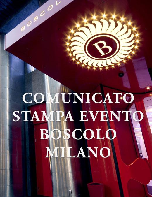 Comunicato Boscolo Hotel